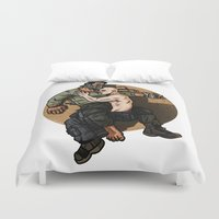 mad max Duvet Covers featuring Mad Max: Fury Road by Randy Meeks