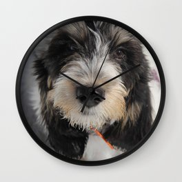 GBGV Puppy with Attitude Wall Clock