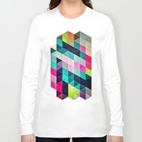 spires Long Sleeve T-shirts featuring Cyrvynne xyx by Spires