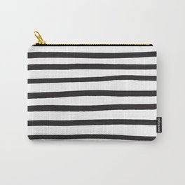Black and white marker lines Carry-All Pouch