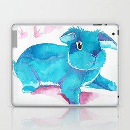 Fuzzy Bunny Walking By Laptop & iPad Skin