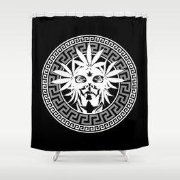 GIANNI B&W Shower Curtain