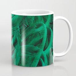 Pellucidar Green Abstract Coffee Mug