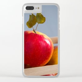 Box of Apples Clear iPhone Case