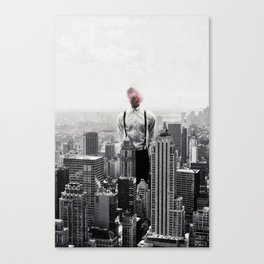 Life in the city ... Canvas Print