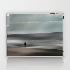 Misty walk Laptop & iPad Skin
