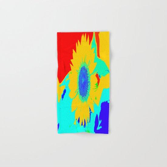 Fun Sunflower Hand & Bath Towel