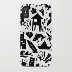 Sun, Surf, Sand iPhone X Slim Case
