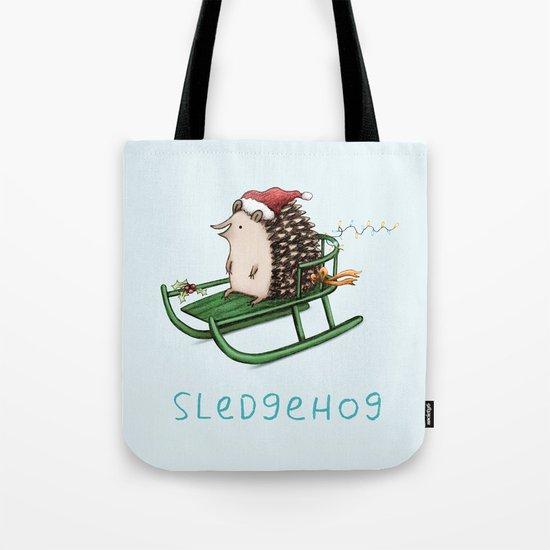 Sledgehog Tote Bag