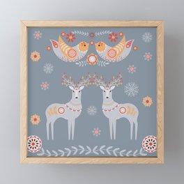 Nordic Winter Framed Mini Art Print