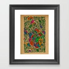 - forest - Framed Art Print
