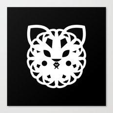 Tiger Fox Canvas Print