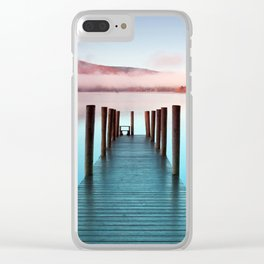 Ashness Pier Over Lake Windermere Derwentwater England Ultra HD Clear iPhone Case