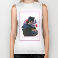 bastille Biker Tanks featuring bastille day by crayon dreamer