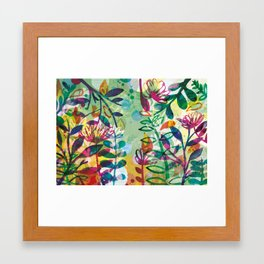 Bloom like a Flower Framed Art Print