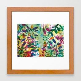 Bloom like a Flower Framed Art Print