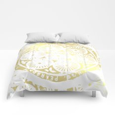 power of one: white gold Comforters