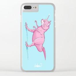 Caticorn-Rex Clear iPhone Case