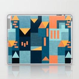 Yellow Klee houses Laptop & iPad Skin