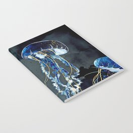 Metallic Ocean III Notebook
