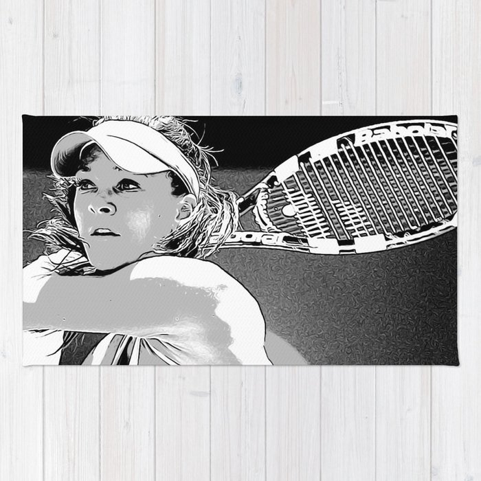 The Ruse of Radwanska Rug