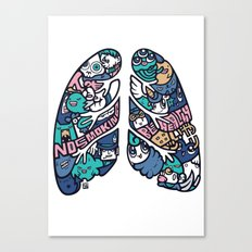 HAI - LUNG Canvas Print