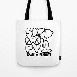 Snoopy x Kaws 2 Tote Bag