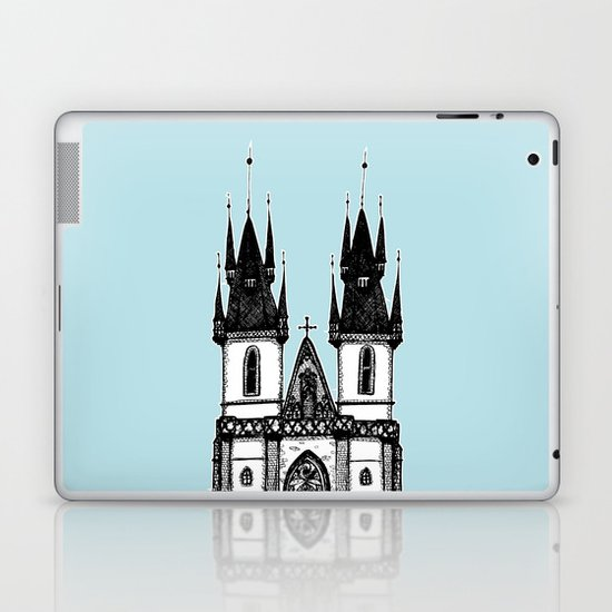 Tyn Church - Prague Laptop & iPad Skin
