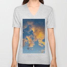 Clouds_002 Unisex V-Neck