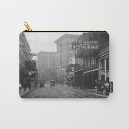 St. Charles Street from Canal, New Orleans, LA Carry-All Pouch