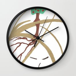 "Mr. ""Tree in hat!"" Wall Clock"