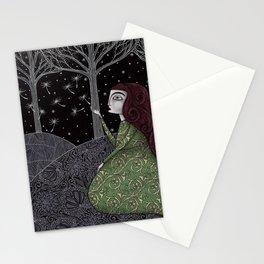 My Winter Stars Stationery Cards