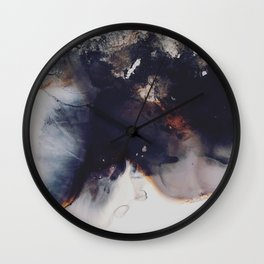 left to smolder Wall Clock