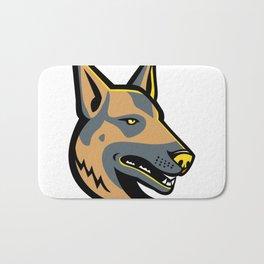 German Shepherd Dog Mascot Bath Mat