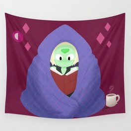 Peri in a blanket Wall Tapestry
