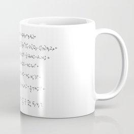Standard Model Coffee Mug