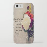 jane austen iPhone & iPod Cases featuring Jane Austen Daughter Emma by KimberosePhotography