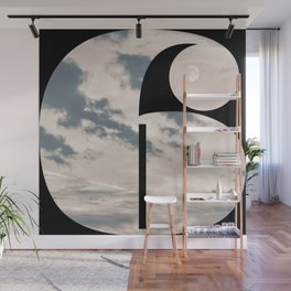 Nr. 6 | Numbers with a View | Typography Letter Art Wall Mural