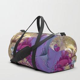 Feelings of being in love -- Fractal illustration Duffle Bag