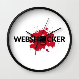 Webshocker Wall Clock