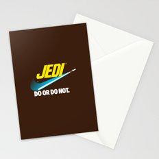 Brand Wars: Jedi - blue lightsaber Stationery Cards