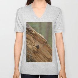 broken tree Unisex V-Neck