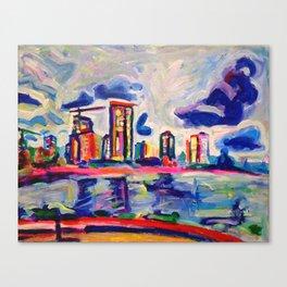 Westside Canvas Print
