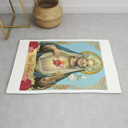 Saint Dolly Parton Rug