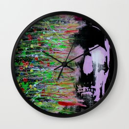 Deconstruct The Conditioned You, Reconstruct The Real You Wall Clock