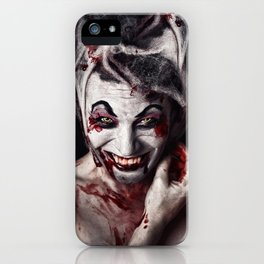 The Joker Has a Sister iPhone Case