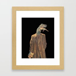Reptilians Framed Art Print