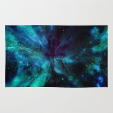 A Colorful Space Among The Stars Rug