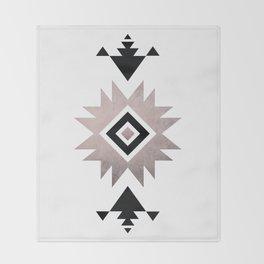 Minimalist Aztec Throw Blanket
