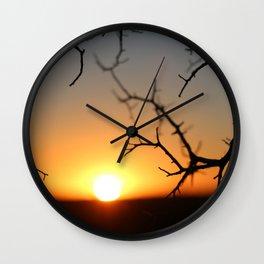 ball of fire Wall Clock